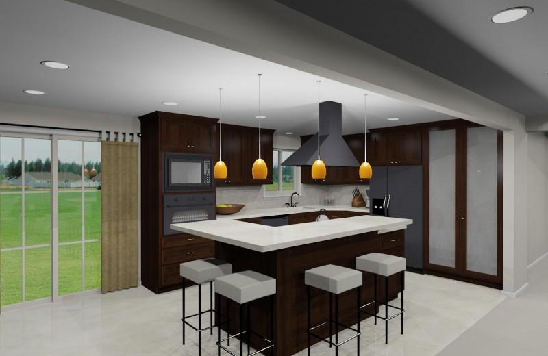 Rendered Kitchen Design